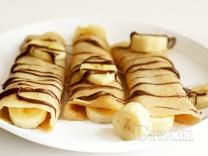 Крепы с бананом