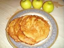 Яблочные блины