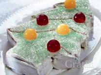 Миндальный кекс «Ёлочка»