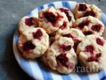 Печенье с малиной