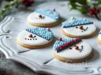 Печенье «Снеговики»