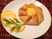 Пирожки с кабачками и сыром