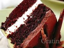 Шоколадный шифоновый торт