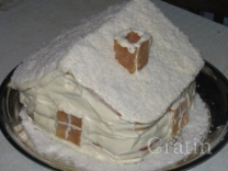 Торт «Зимняя Избушка»